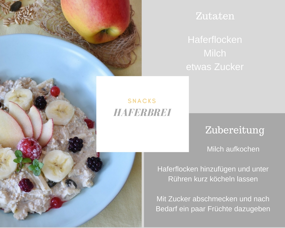 Haferbrei-Rezept